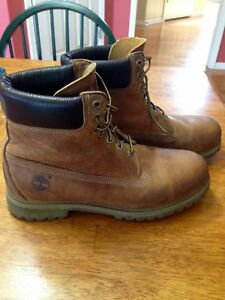 maquinilla de afeitar mayoria Mercado  Mens Timberland Heritage Classic 6-Inch 27094 Waterproof Leather Boots - 11  | eBay