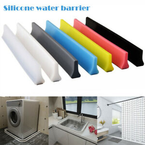 60-200CM Foldable Water Stopper Bathroom Kitchen Water Barriers Separation Strip