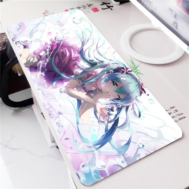Vocaloid Anime Hatsune Miku Game Mouse Pad Mice Pad Gaming Play mat Desk Mat #28