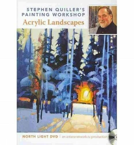 NEW! Stephen Quiller's Painting Workshop Acrylic Landscape DVD  Brushwork [DVD]