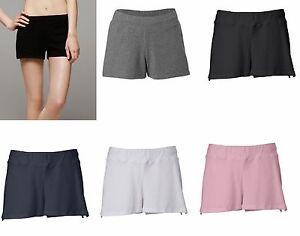 Bella-Brand-NEW-Ladies-Size-S-2XL-Cotton-Spandex-Yoga-Fitness-Shorts-Womens-825