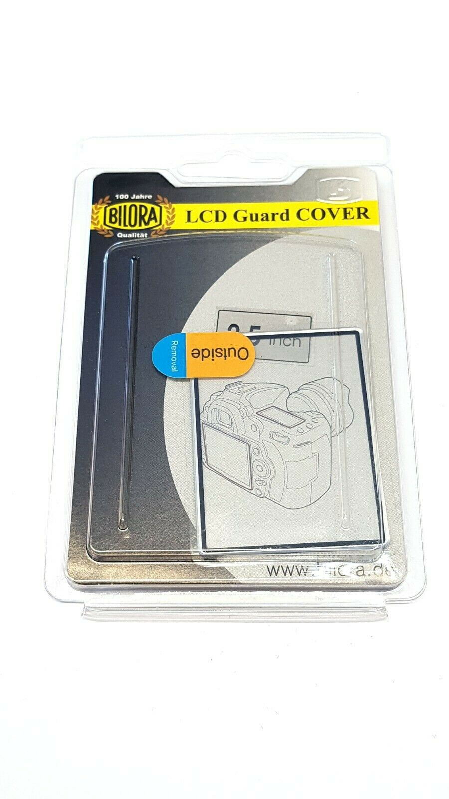 3 X BILORA LCD Guard Cover Protective For 2,5
