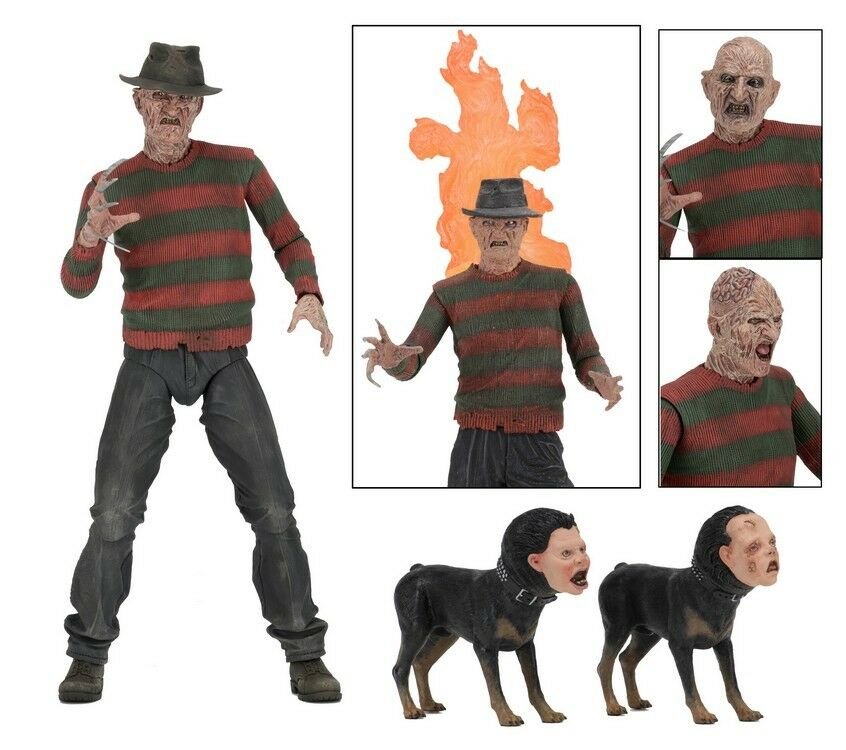 Figure Action FREDDY KRUEGER NIGHTMARE 2 The Vendetta ULTIMATE NECA Original