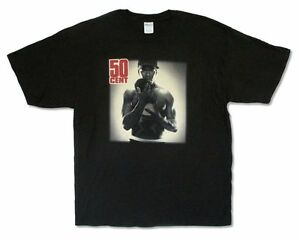 50-Cent-Get-Rich-or-Die-Tryin-039-Album-Image-Black-T-Shirt-New-Official