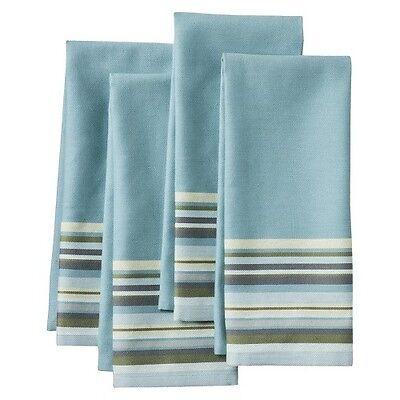 Threshold™ Yarndye Stripe Kitchen Towel Set of 4