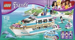 NEW LEGO FRIENDS 41015 DOLPHIN CRUISER YACHT ***RETIRED SET***