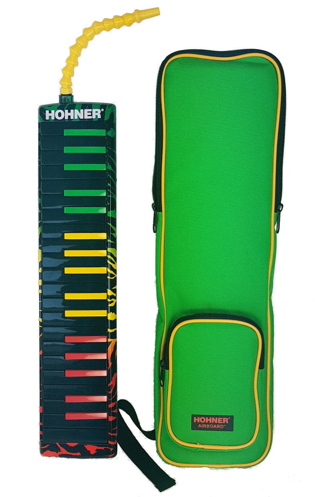 Mélodica HOHNER AIRBOARD   Rasta   Junior Junior Junior touches piano 25, 32 ou 37 notes. ec9404