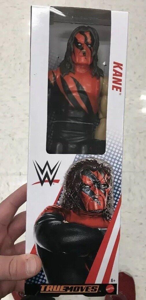 "WWE WWF Mattel True Moves Kane Sealed 12"" Action Figures Hard 2 Find Minty Fresh"