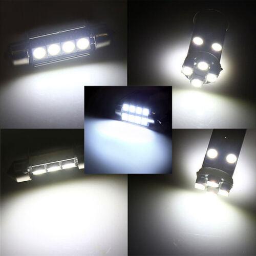 23 un coche cúpula Interior Blanco LED Luz Bombilla Lámpara de reemplazo de puerta de tronco Kit