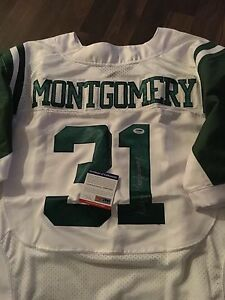 buy popular cbe0a d17e6 Wilbert Montgomery Philadelphia Eagles Signed Jersey PSA DNA ...