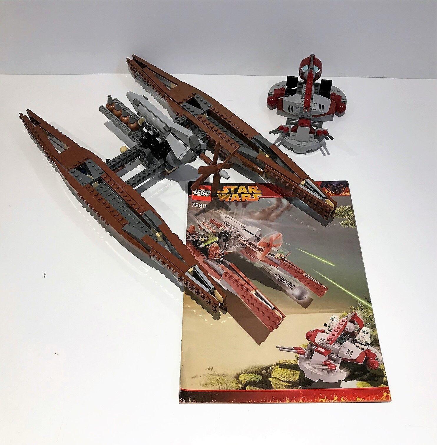 Lego set 7260 Wookiee Catamaran- 355 Pieces – Star Wars – Episode III