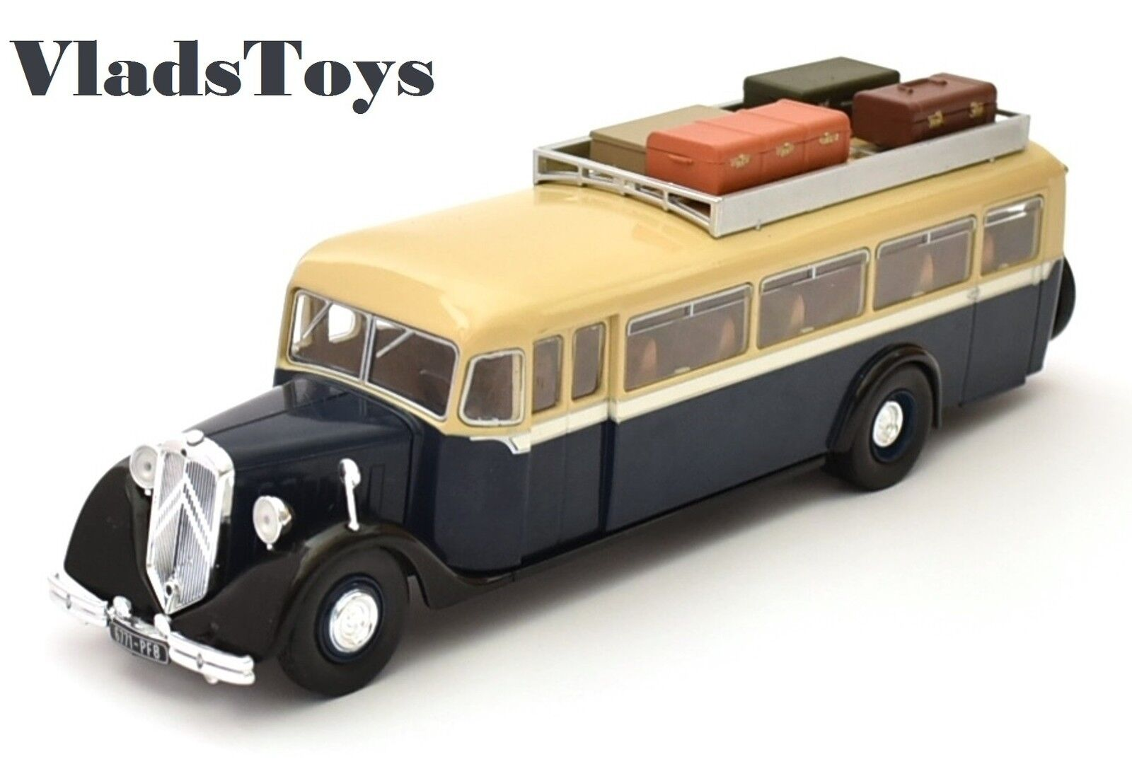 Hachette Buses of the World 1 43 scale Citroen T45 - France, 1934 HB01 USA