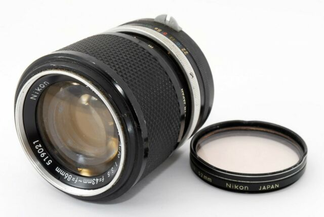 [AS-IS] Nikon Zoom-NIKKOR AUTO 43-86mm f/3.5 Non-Ai Lens from Japan #N1546