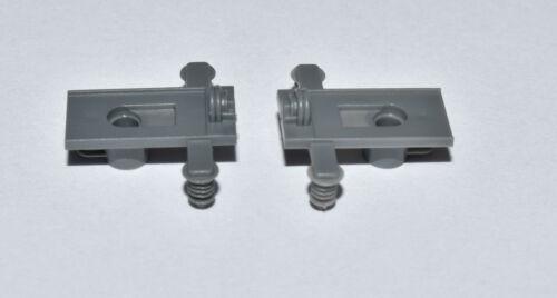 Märklin 408886  2 Stück Trägerisolation grau Träger f Stromabnehmer NEU E408886