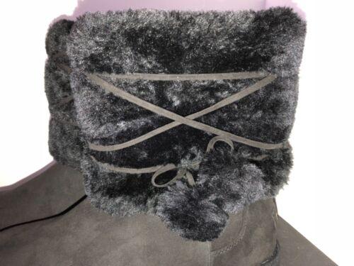 5 nera California pelliccia con foderata stivali 9 pelliccia Tau taglia makalu Nuovi in aqYzPqw