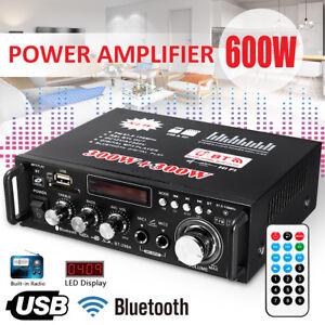 600W-Digital-Amplifier-HIFI-Bluetooth-Stereo-Audio-AMP-USB-SD-FM-Mic-Car-Home