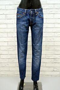 GUESS-PREMIUM-Jeans-Slim-Blu-Pantalone-Donna-Taglia-30-Pants-Women-039-s-Casual