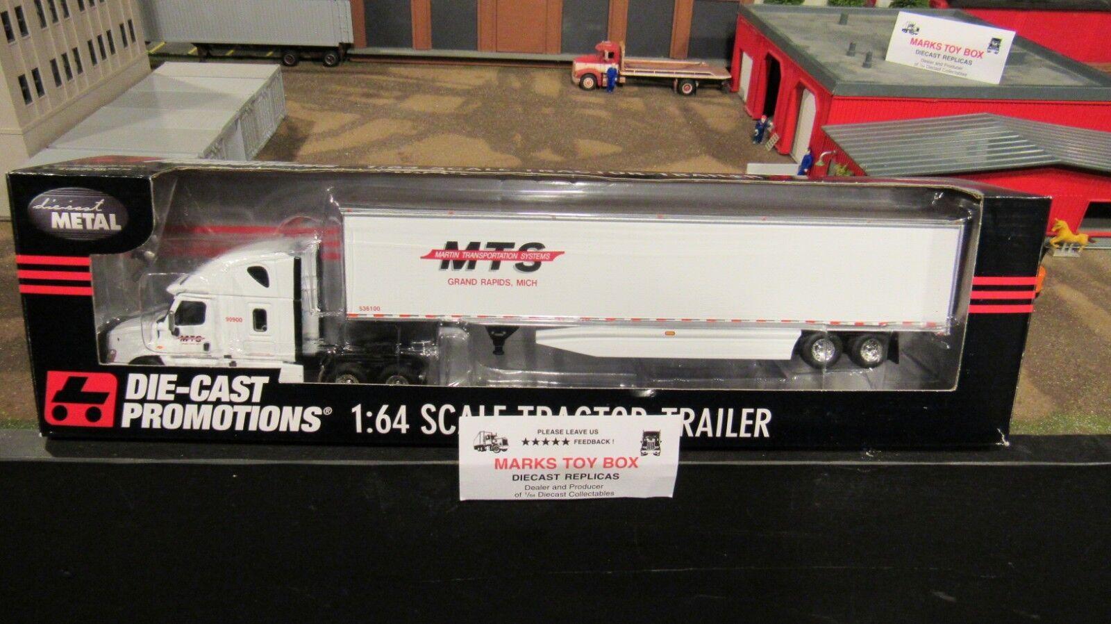33586 martin transportsysteme m fl cascadia trocken van trailer 1 64   cl