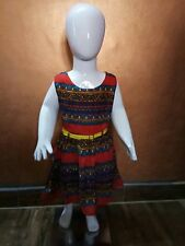 Kids Frock Multi Colour 3-4 Yrs