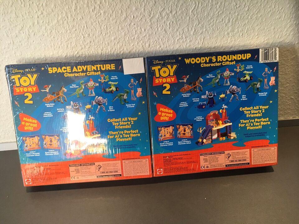 Toystory 2 playsets, Disney pixar