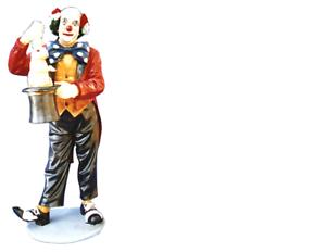 Design clownmagier personaje estatua escultura figuras esculturas decoración decorativa 5027