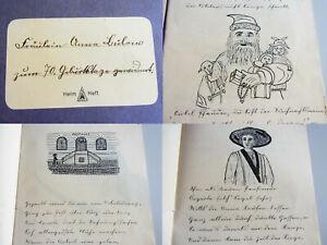 Details Zu Handschrift Potsdam 1940 Gedicht Zum 70 Geburtstag Post Pensionärin Anna Bülow