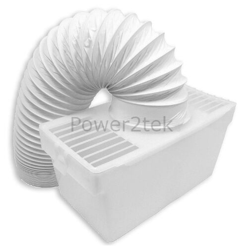 Condenser Vent Kit Box /& Hose for Hotpoint 9324W Tumble Dryer Wall Mountable NEW