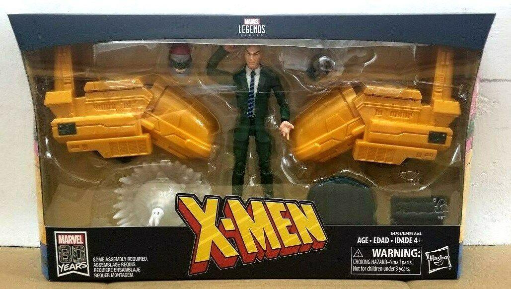 HASBRO MARVEL LEGENDS Ultimate Figure & véhicule  Set X-Hommes Professeur X action figure  Découvrez le moins cher