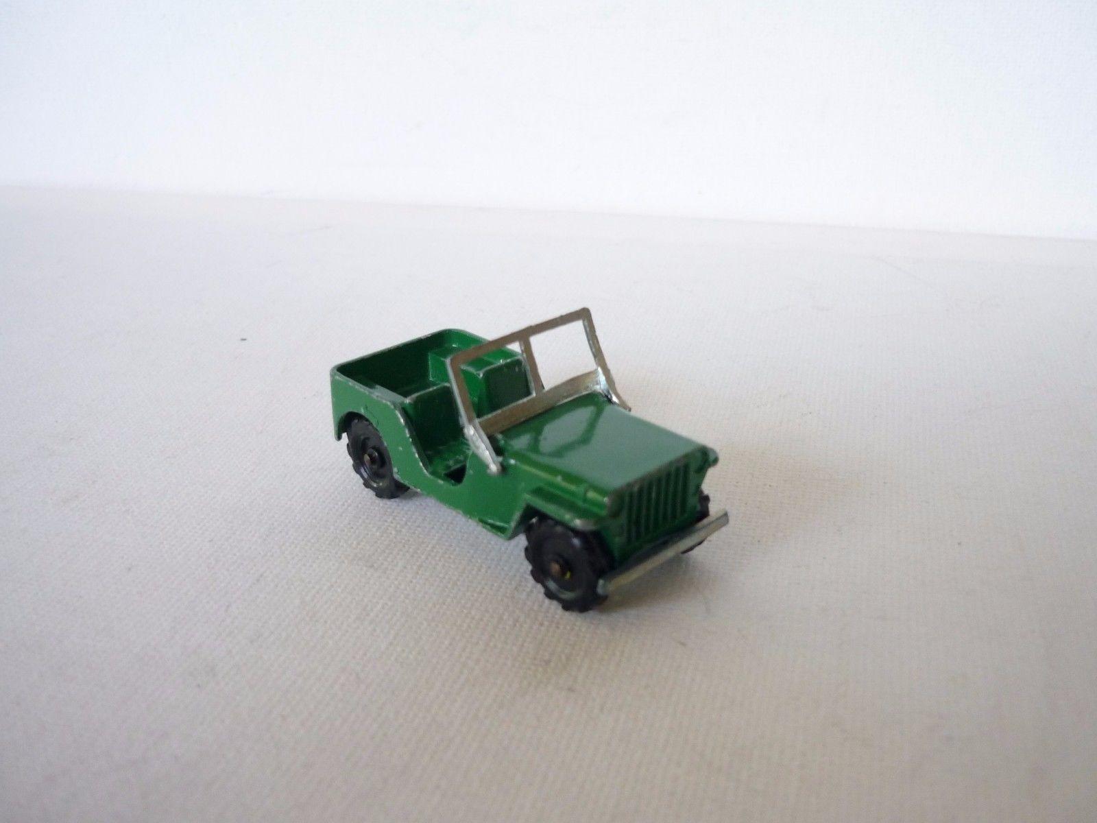 1 65 majorette jeep nr. 7 bahnstrecke schöne und gute kondition selten