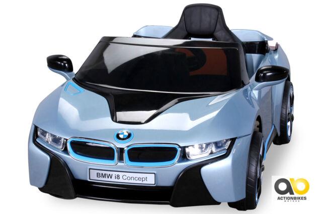 Children Electric Car Bmw I8 Vehicle Children S Light Blue Metallic