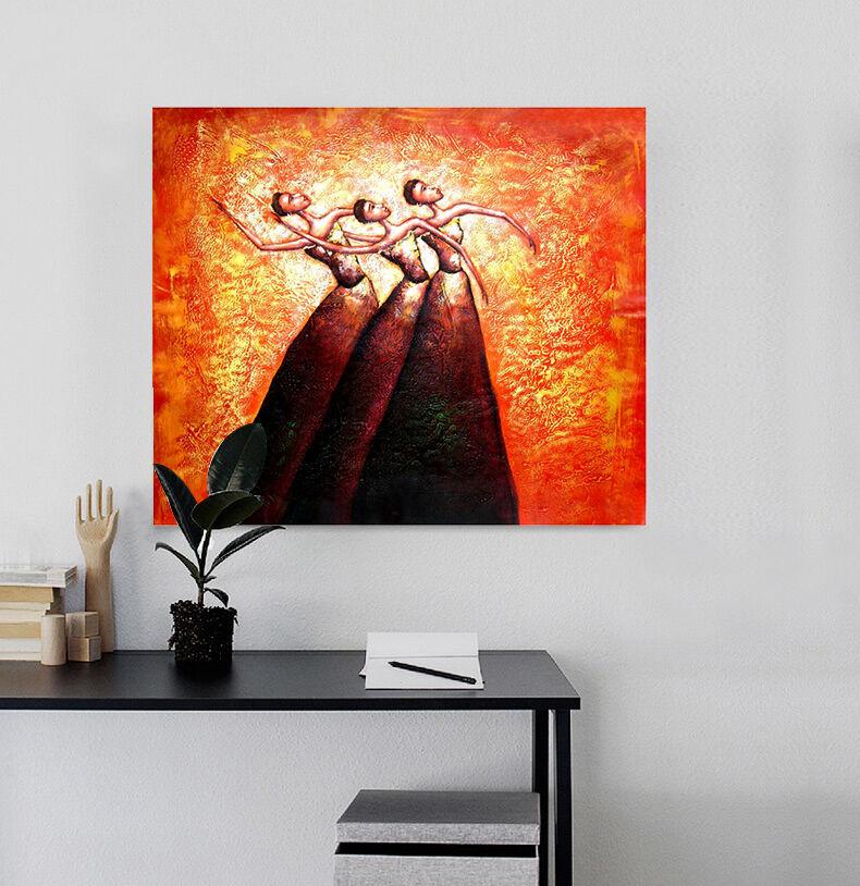 3D Drei schne Mdchen 24 Wandbild Fototapete BildTapete Familie AJSTORE DE
