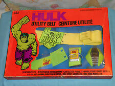 vintage AHI Grand Toys THE INCREDIBLE HULK UTILITY BELT in box
