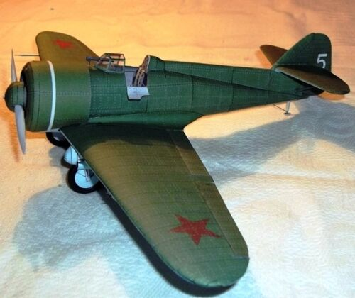 IZ Grigorovich USSR Fighter Airplane Mahogany Kiln Dry Wood Model Large New