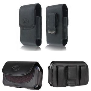 Leather-Pouch-Holster-Clip-that-fits-with-Hard-Silicone-Snap-On-Case-on-it