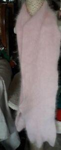 Echarpe Angora ???????????????? anny blatt  luxe très  poilue
