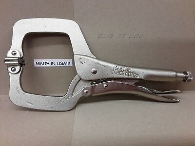 "CP 11 Master Mechanic Locking C-Clamp 11/"" Pliers American Tools  **USA***  NEW"
