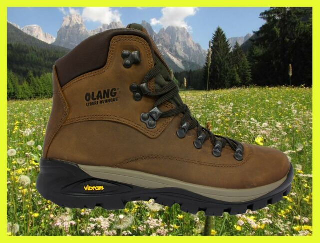 in Cuoio Impermeabile Logan OLANG Trekking Tex Scarponcino Scarpa ZY41xx