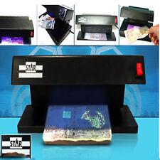 Ultraviolet Uv Counterfeit Fake Currency Note Money Detector Checker Machine
