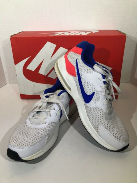 Nike Air Max Guile Men's Size 6.5 White Blue Solar Red Running Shoes X16 1337