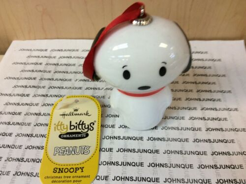 SNOOPY ITTY BITTYS ORNAMENT PEANUTS NEW WITH TAG WE SHIP FAST!