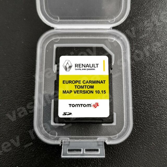 Tomtom Renault Dach Navi Sd Karte Gunstig Kaufen Ebay