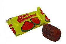 Vero Chirris Rebanaditas Sandia 40ct Watermelon Chili Coated Mexican Candy