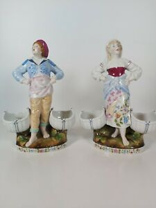 Conta-amp-Boehme-Germany-Pair-Of-Figurines-Appr-22cm-Tall