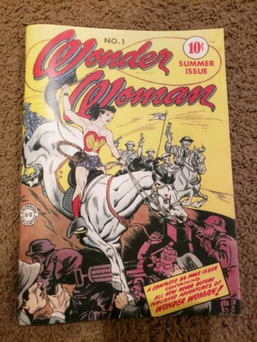 Wonder Women # 1 1942 1st Wonder Woman Reprint Comic