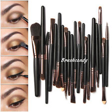 20pcs Pro Makeup Brushes Set Powder Foundation Eyeshadow Eyeliner Lip Brush Gold