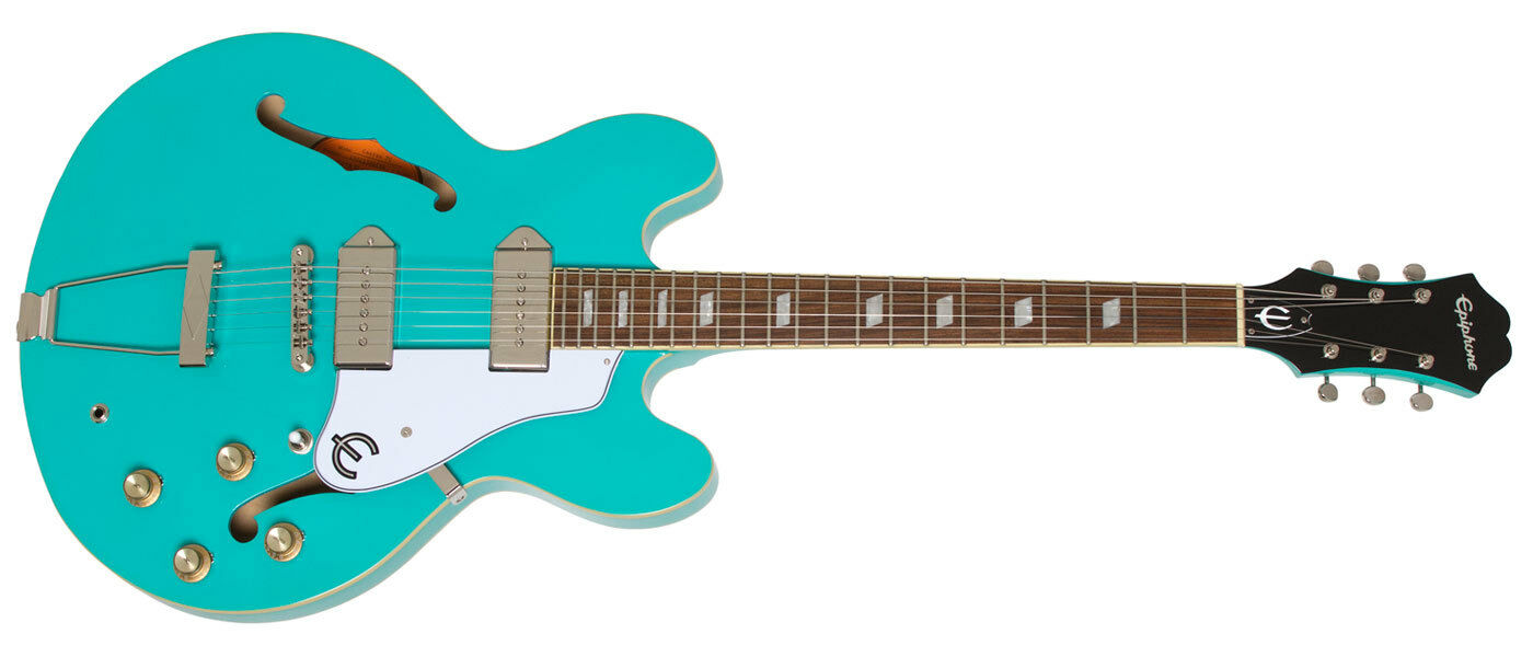 Epiphone Casino Electric Guitar - Tuquoise