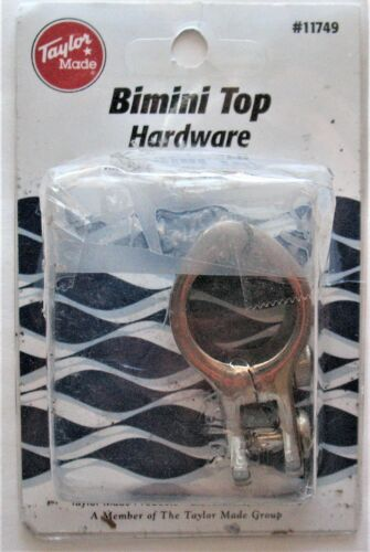 "Taylor Made  Bimini Top SS Railing Clamp Fits 7//8/"" Railing #11749/>Free Shipping"