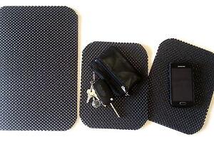 Antirutschmatte-Set-3-Teile-1x-31x22-cm-und-2x-21x17-cm-Auto-Pad-Handy-Brille
