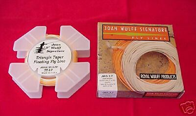 Royal Wulff Fly Line Joan Wulff Signature Triangle Taper Line Taille  6  nouveau