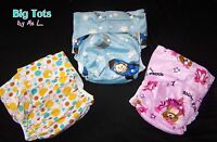 Adult Baby Got2go Clearanceminkey Pocket Diaper W/insert Snap Big Tots